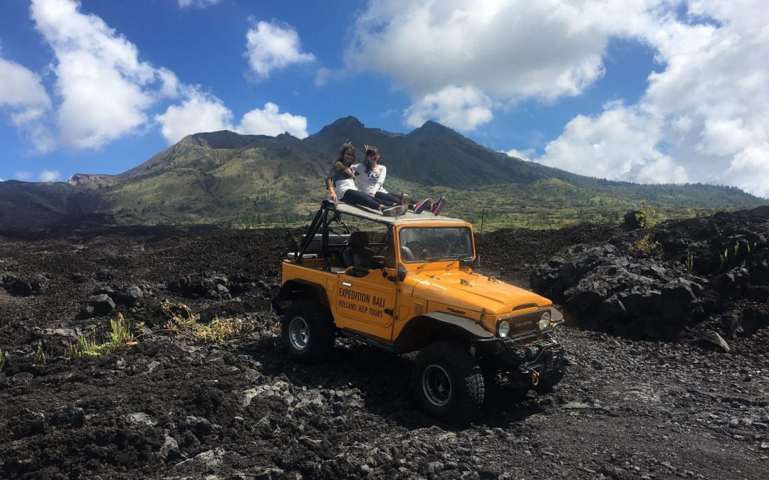 Exploring Mount Batur on a Black Lava Jeep Tour